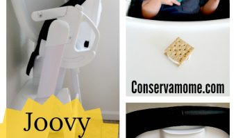 Joovy FooDoo High Chair + Fun Toddler Snack Recipe