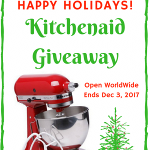 Kitchenaid Giveaway ends 12/3