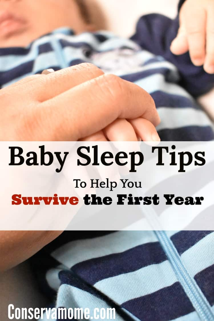 Every parent has a struggle getting some sleep when they have a new baby. Here are Baby Sleep Tips to Help Every parent survive the First year.