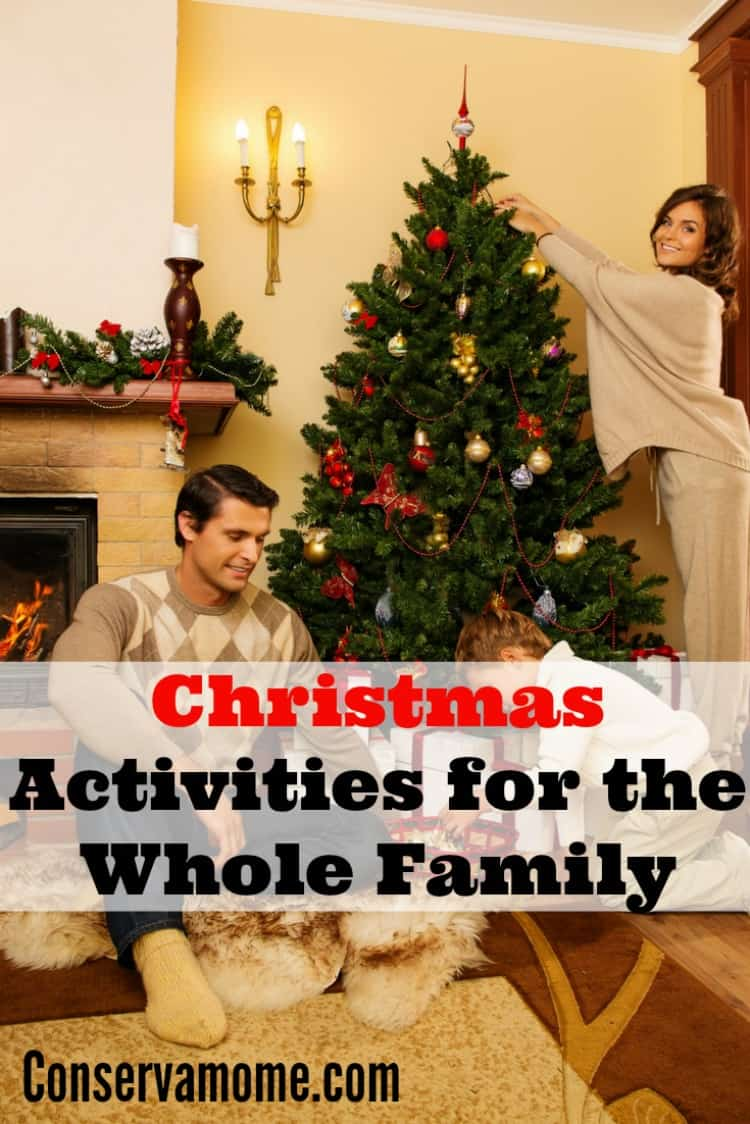Christmas activities for the whole family conservamom for Christmas activities for families to do