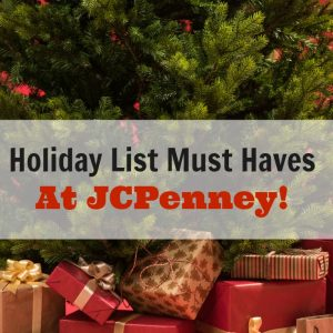 Holiday Must Haves At JCPenney #JCPchallenge