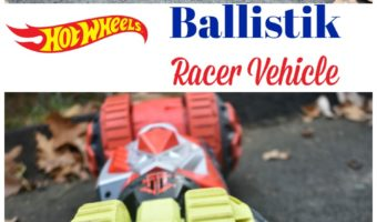 Hot Wheels Ballistik Racer Vehicle In Action