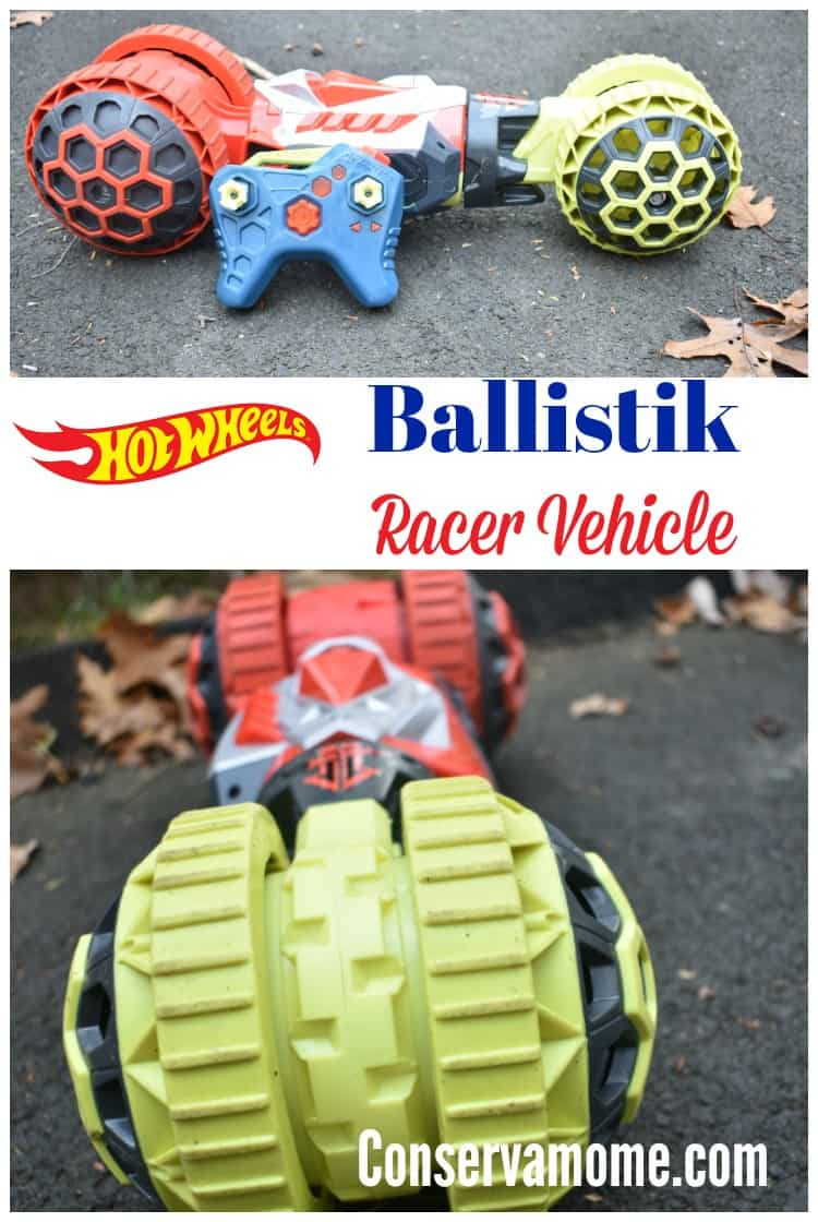 The Hot Wheels Ballistik Racer will match any challenge sent its way! Check out why the this is a must have toy this Holiday Season.