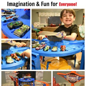 Hot Wheels Super Ultimate Garage -Imagination & Fun for Everyone!
