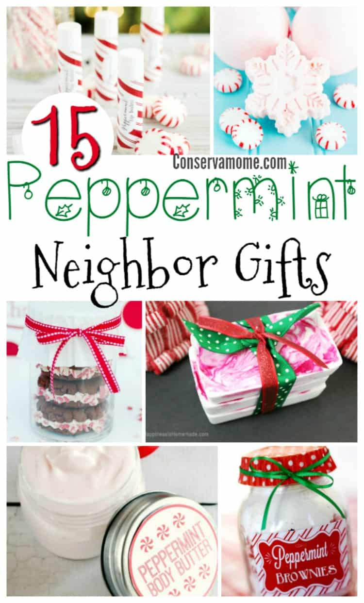What does one get that special neighbor or friend? Here are 15 Peppermint Gift Ideas, perfect for that special homemade gift touch you can't get from Store bought gifts!