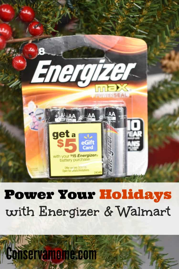 Power up your Holidays with Energizer & Walmart by taking advantage of a great deal that will help make your Holidays brighter.