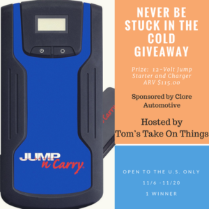 Never be stuck in the cold giveaway ends 11/20