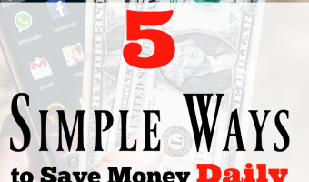 5 Simple Ways to Save Money Daily