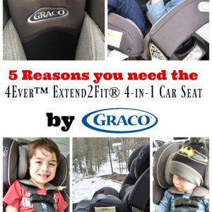 5 Reasons you need the 4Ever™ Extend2Fit® 4-in-1 Car Seat by Graco