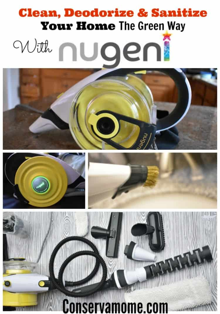 Clean, Deodorize & Sanitize Your Home The Green Way With Nugeni!Find out why the Nugeni Steampac is a must have in your home!