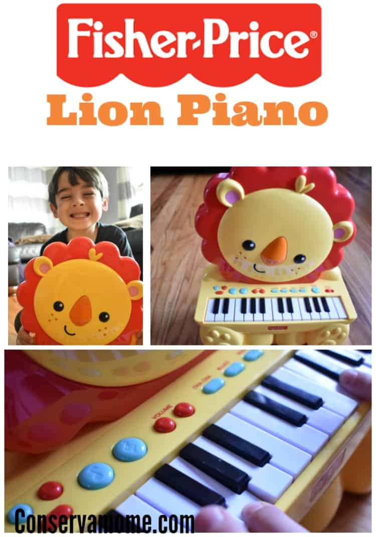 Find out why the Fisher Price Lion Piano is a fun addition to any little budding musicians collection