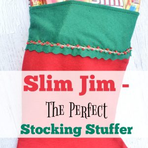 Slim Jim- The Perfect Stocking Stuffer