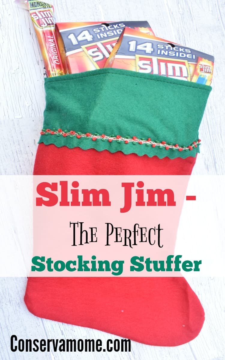 Getting the perfect Stocking stuffer can be tough, thankfully Slim Jim is the perfect stocking stuffer. Find out why!