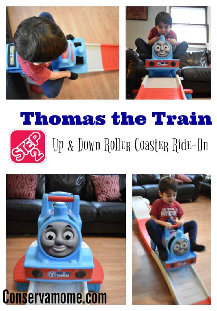 Find out why the  Step2 Thomas the Train Up & Down Roller Coaster Ride-On is a must have for your little ones.