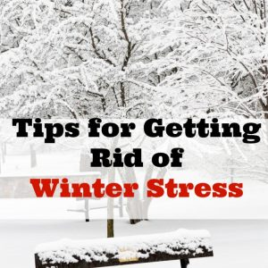 Tips for Getting Rid of Winter Stress with Sunbeam® + Giveaway