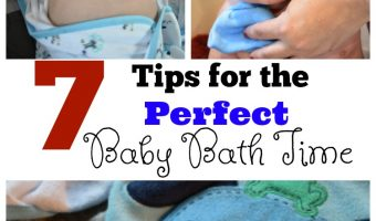7 Tips for the Perfect Baby Bath Time