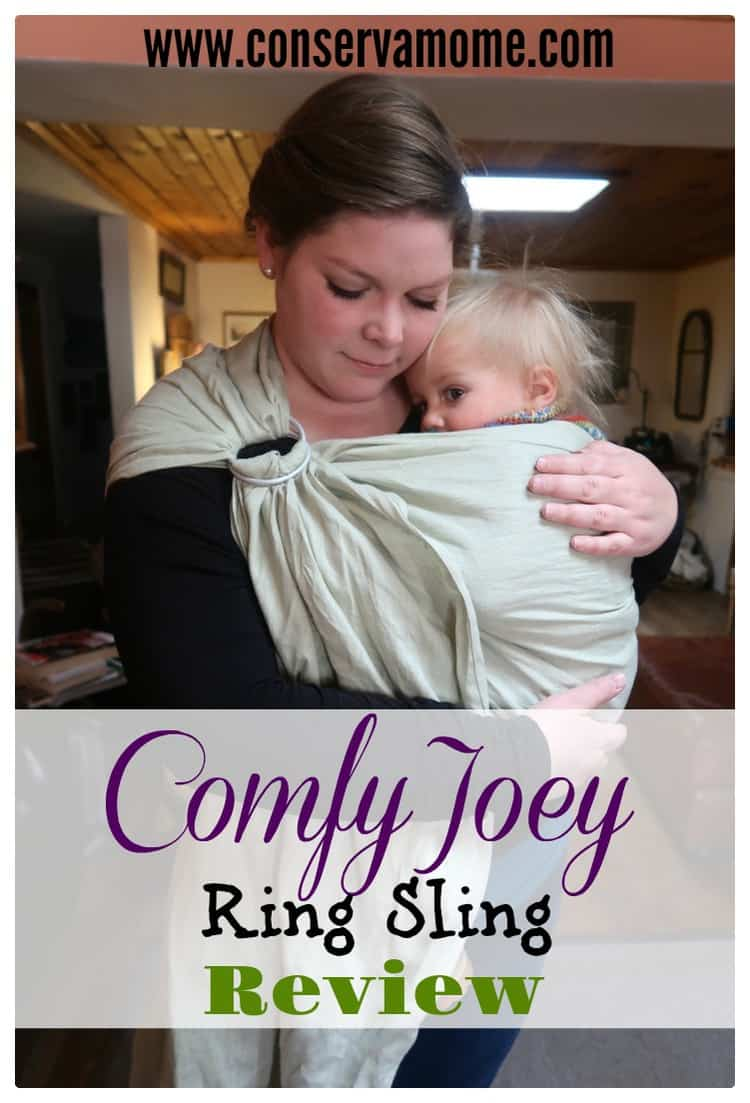 Find out why the Comfy Joey Ring Sling is a must have for baby wearing.