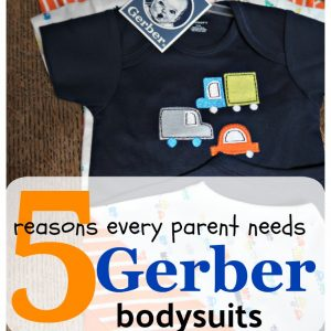 5 Reasons Every Parent Needs Gerber bodysuits