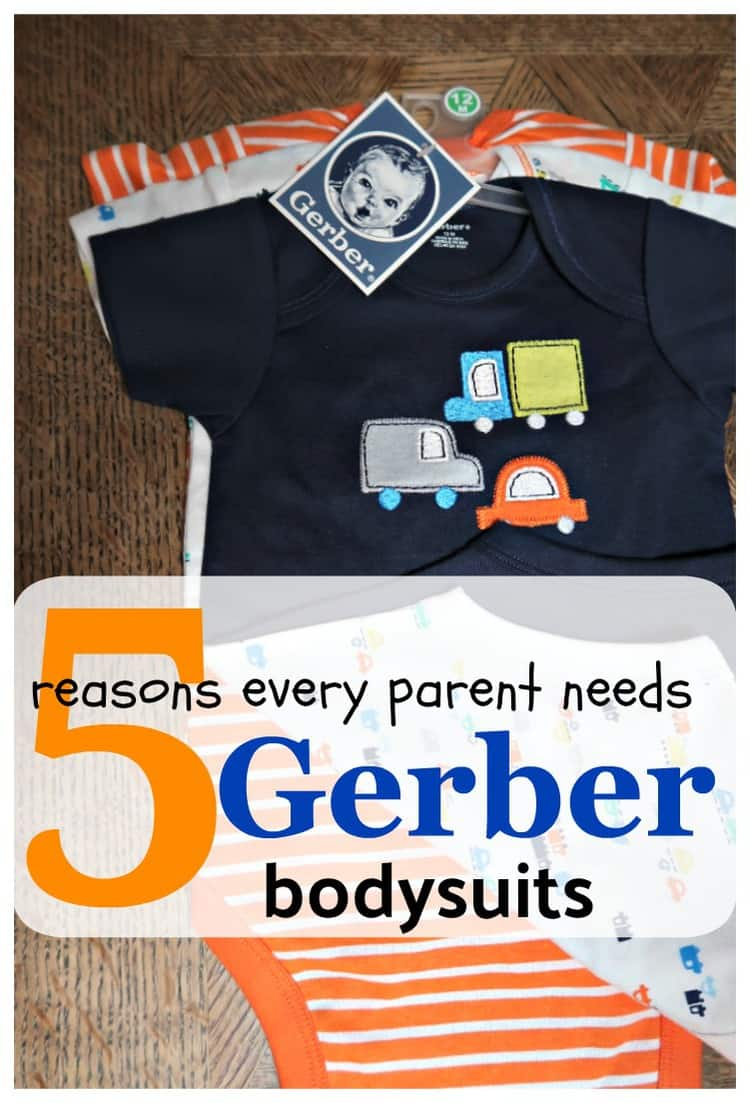 Parenting can be rough, however, being prepared with products that will make life easier is essential. Check out5 Reasons Every Parent Needs Gerber bodysuits.