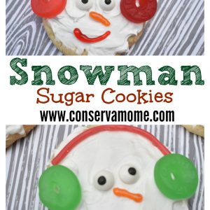 Snowman Cookies- A fun Holiday Dessert