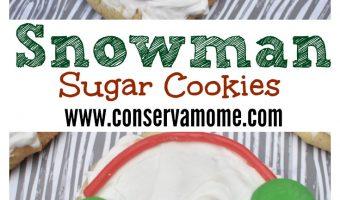 Snowman Cookies- A fun Holiday Dessert