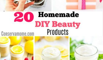 20 Homemade  DIY Beauty Products