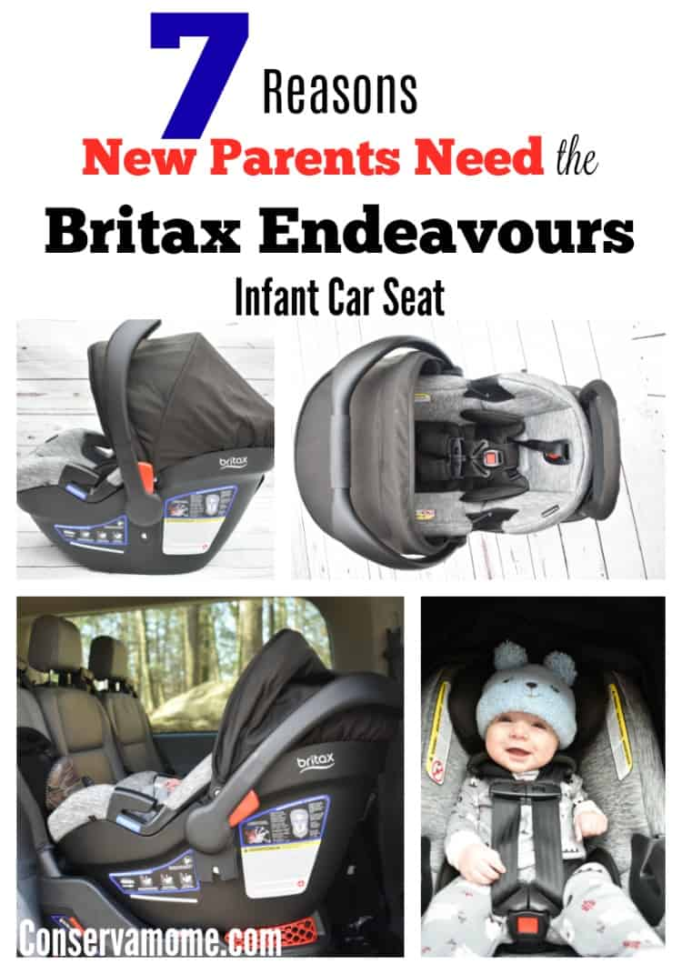 Finding the perfect infant car seat can be tough. I've taken some of the leg work away! Check out 7 Reasons New Parents Need the Britax Endeavours infant car seat. Although I received the Britax Endeavours car seat free of charge for my honest review, all opinions are 100% mine.