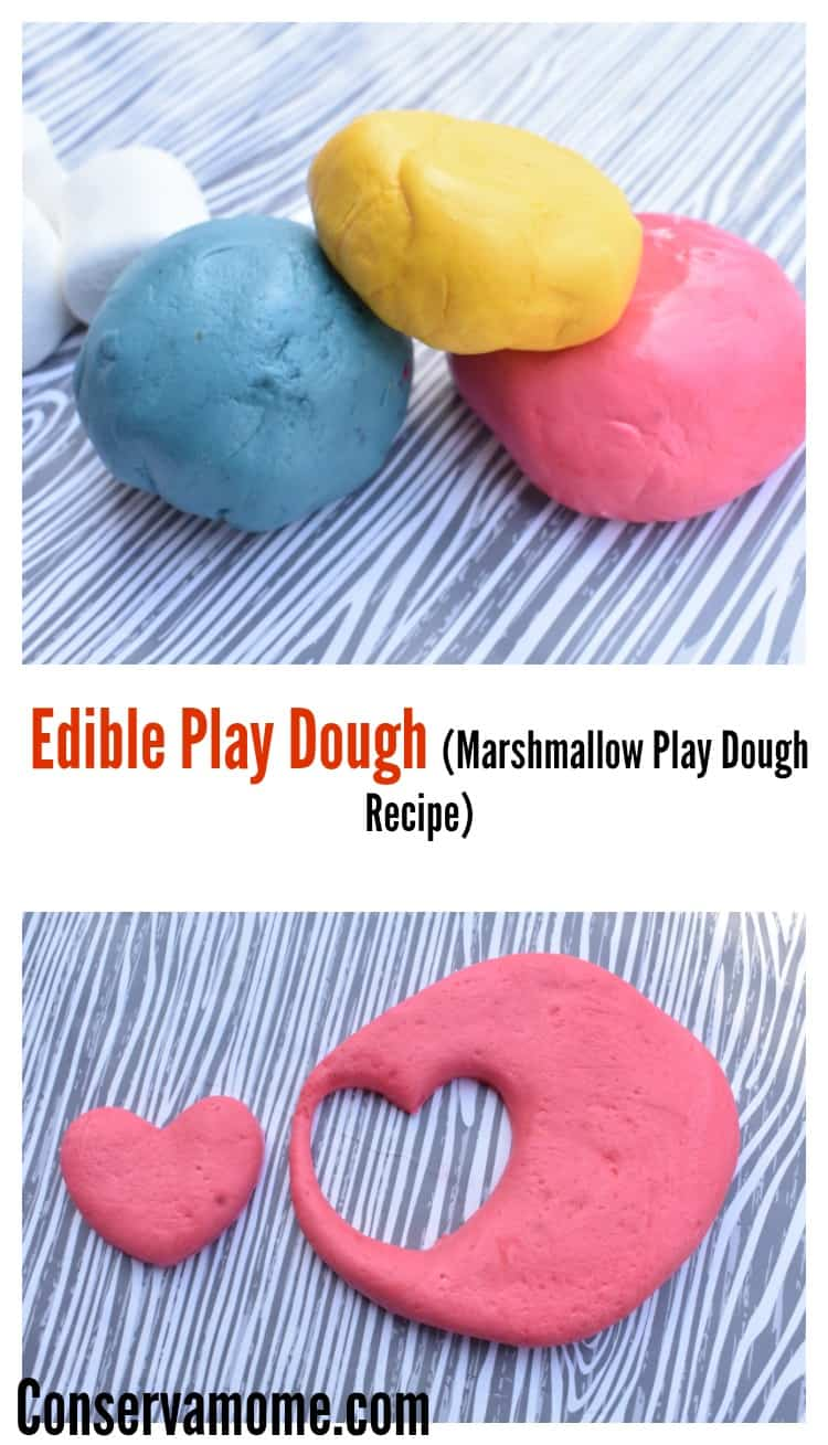 This fun and edible play dough recipe will be a hit with your kids. Perfect for an afternoon crafty fun or just because you'll feel safe knowing their having fun with this Marshmallow Play dough recipe.