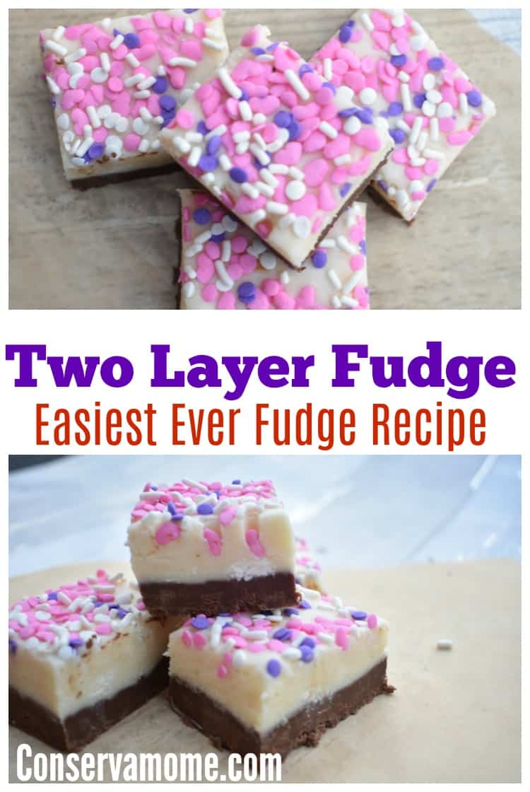 Two layer fudge recipe