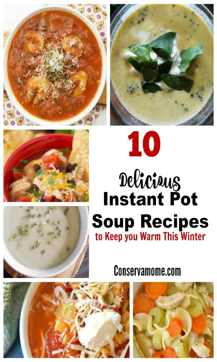 Keep cozy with this list of 10 Delicious Instant Pot Soup Recipes to Keep you Warm This Winter.