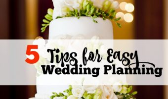 5 Tips for Easy Wedding Planning