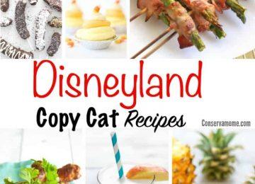 Disneyland Copycat Recipes - No text