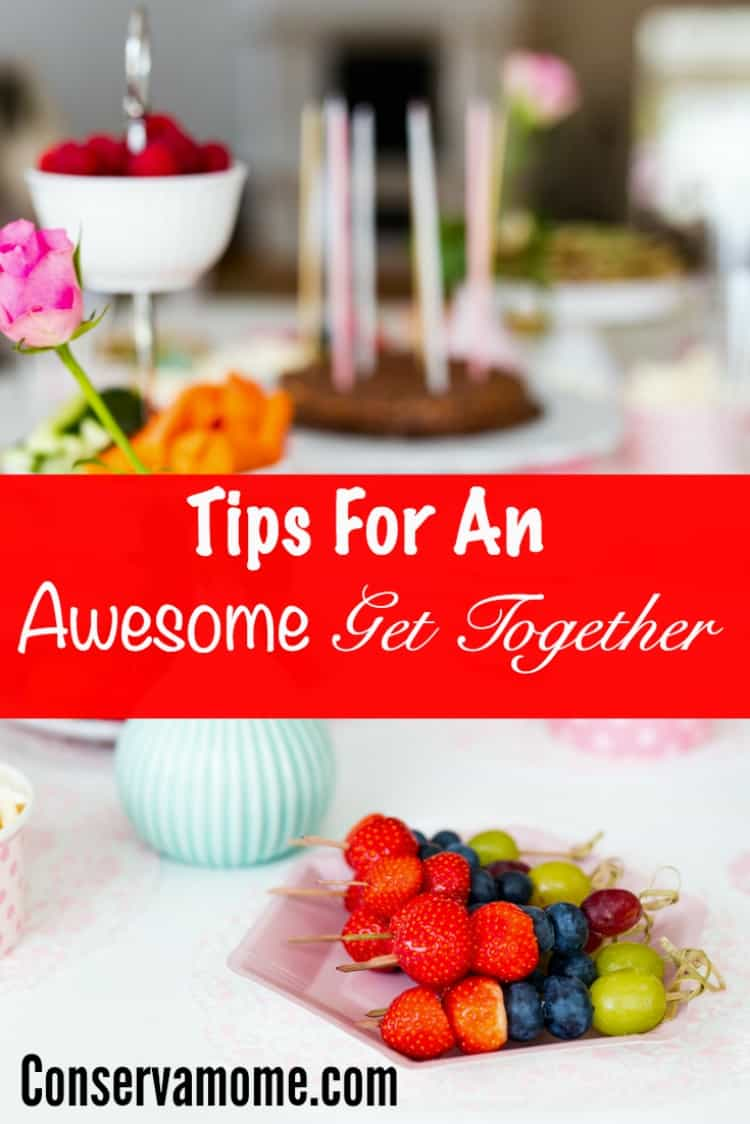 Putting together an amazing party or get together doesn't have to be complicated! Check out some tips for an awesome get together!