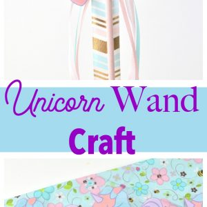 Unicorn Wand Craft
