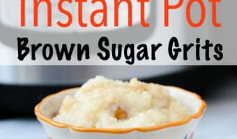 Instant Pot Brown Sugar Grits