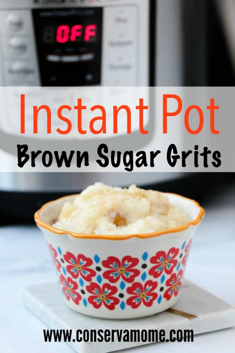 This delicious Instant Pot Brown Sugar Grits recipe will be a huge hit at breakfast. Check out how easy it is to make!