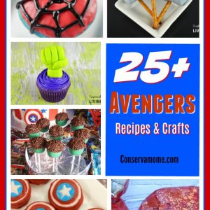 25+ Avengers Recipes & Crafts