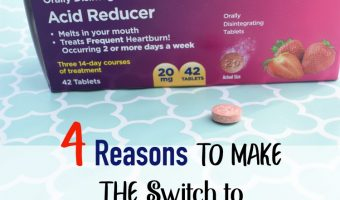 4 Reasons to Make the Switch to Equate Omeprazole ODT from Walmart