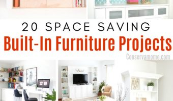 20 Space Saving Built-In Furniture Ideas