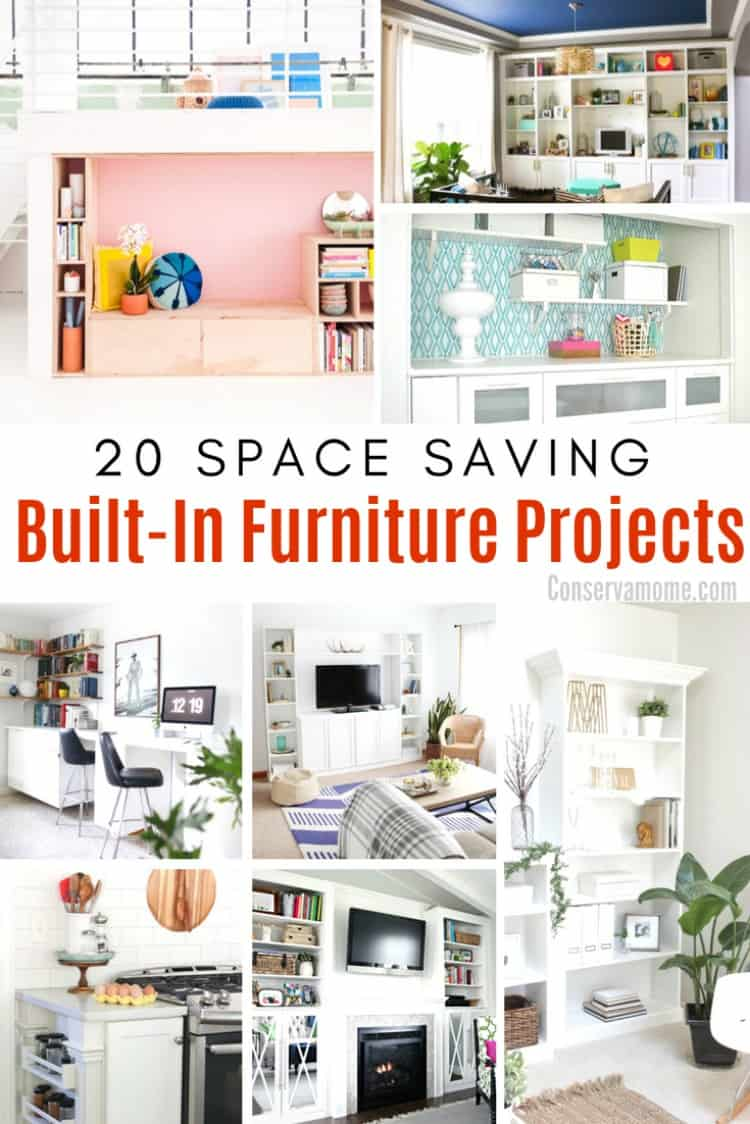 Finding the right amount of space can sometimes be tough.However, there are ways to make even the smallest spaces perfect with these 20 Space Saving Built-In Furniture Ideas.