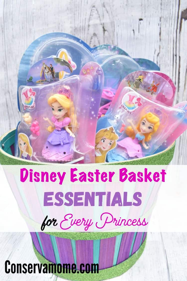 Here's a fun assortment of Disney Easter Basket Essentials for Every Princess. This is a perfect assortment of products for every size basket and budget!
