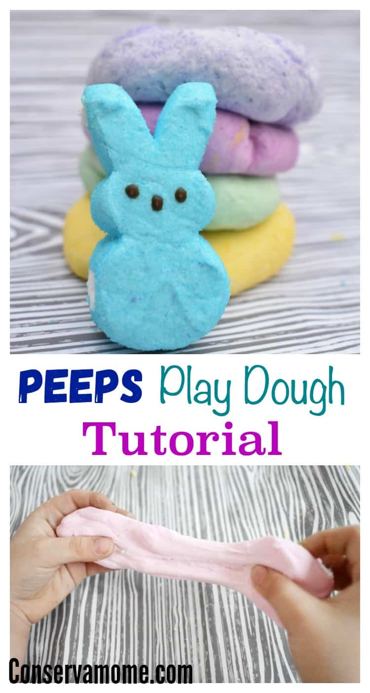 Love them or hate them, peeps are a fun and easy way to make play dough! Check out this Easy Peeps Play Dough Recipe for your little ones to enjoy!