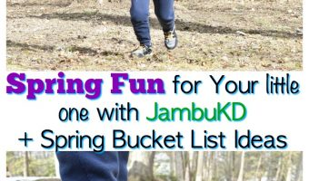 Spring Fun for Your little one w/ JambuKD +  Spring Bucket List For Kids + Giveaway