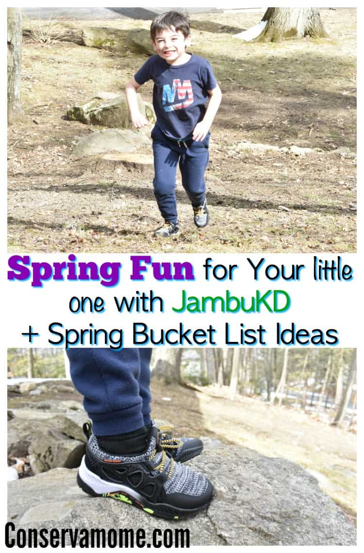 Check out some Spring Fun for Your little one with  JambuKD. It includes a fun Spring Bucket List For Kids!