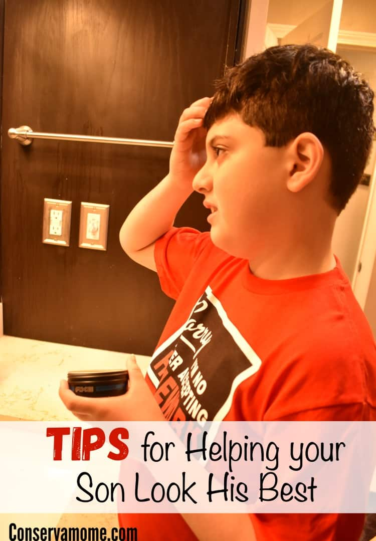 Tips for Helping your Son Look his Best
