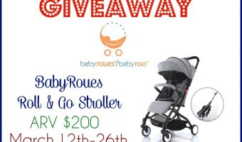 Baby Roues Roll & Go Stroller Giveaway ends 3/26