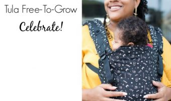 Tula Free to Grow in Celebrate Print Giveaway ends 4/23