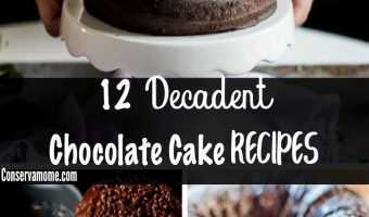 12 Decadent Chocolate Cake Recipes