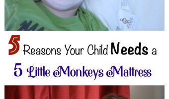 5 Reasons Your Child Needs a 5 Little Monkeys Mattress