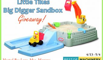 Little Tikes BigDigger Sandbox Giveaway ends 5/4